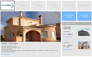 Immo Torres website