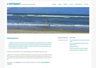 L'Optimist // Website